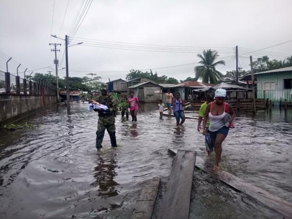 Invierno en Antioquia y Chocó