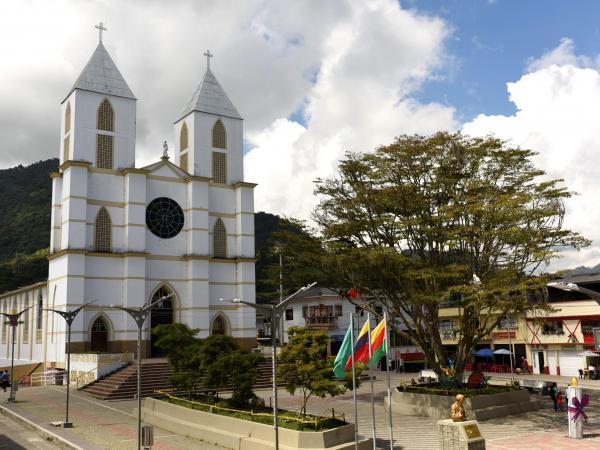 Resultado de imagen para Nuevo Templo de Quinchia