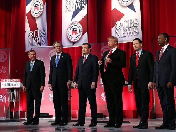BBC Mundo: Debate de precandidatos presidenciales republicanos en 2016.