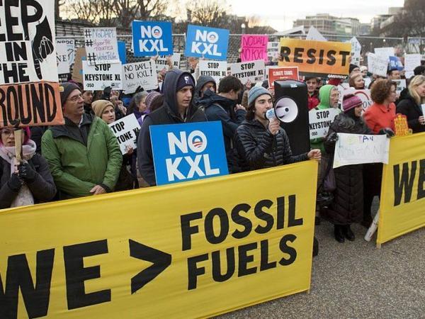 BBC Mundo: Protesta contra los oleoductos Dakota Keystone XL.
