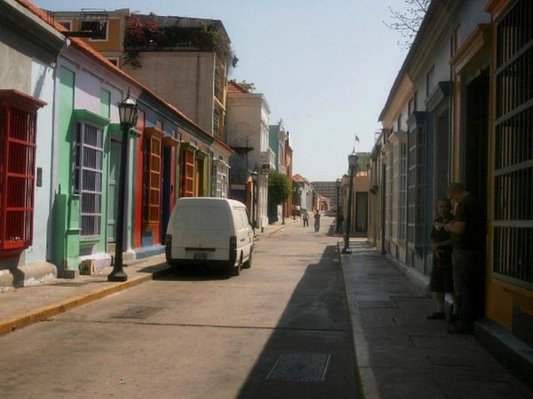 BBC Mundo: Calle en la que vivió Juan Carlos Sánchez Latorre en Venezuela. (Foto: Humberto Matheus)