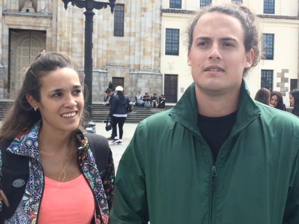 BBC Mundo: Turistas argentinos en Bogotá.