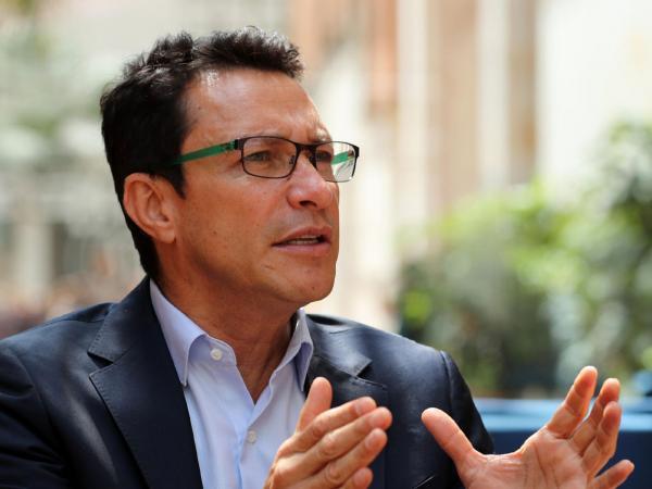Carlos Caicedo, candidato presidencial