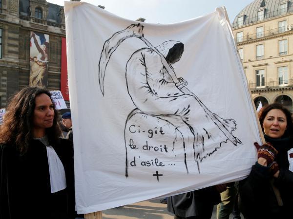 Ley de inmigración en Francia