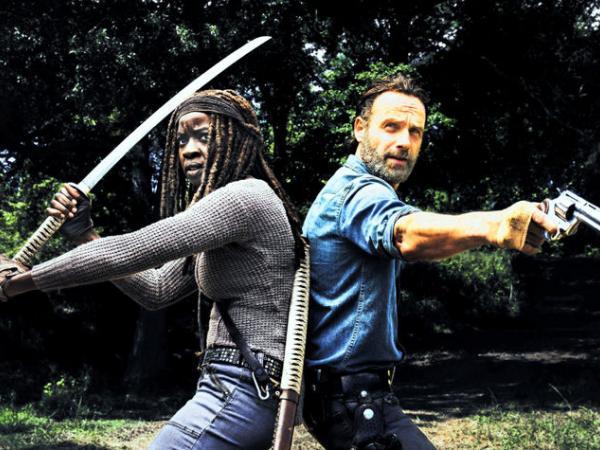 Protagonistas de 'The Walking Dead'