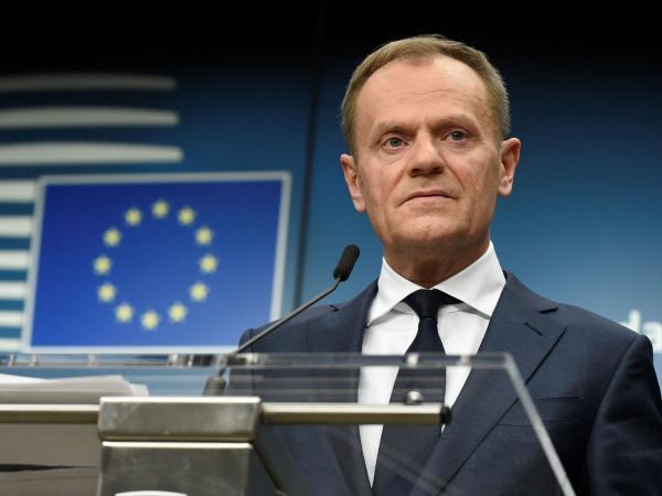 Donald Tusk, presidente de la UE