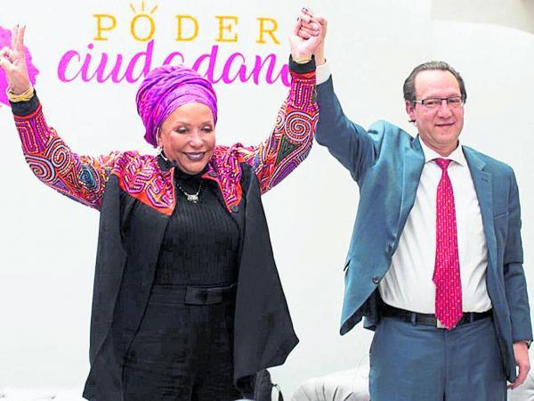 Piedad Córdoba y Jaime Araújo