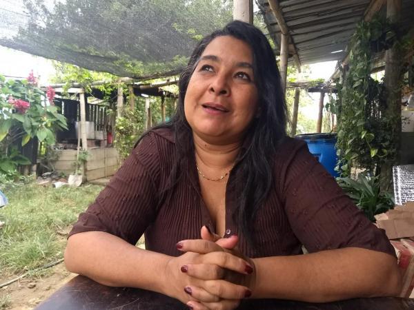 Yaneth Yanguas recuerda que el primer encuentro con otras víctimas la estremeció por sus desgarradores relatos.