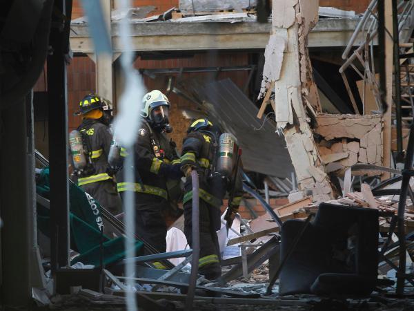 Explosión en Chile