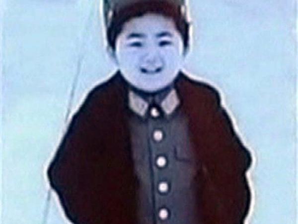 BBC Mundo: Kim Jong-un de pequeño.