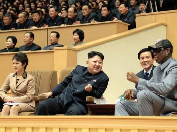 BBC Mundo: Kim Jong-un con Dennis Rodman.