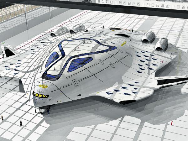 Avión supersónico ecológico