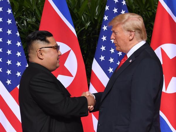 Cumbre Trump - KIm