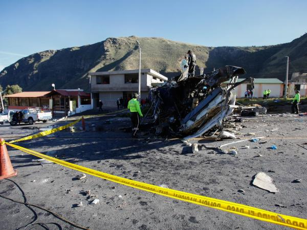 Accidente en Ecuador