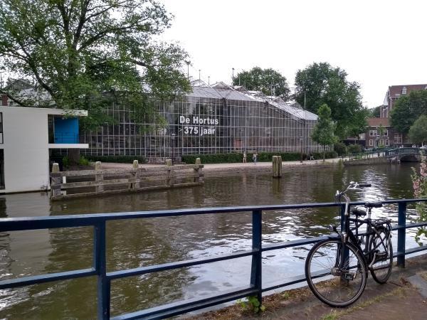 Jardín Botánico de Ámsterdam.