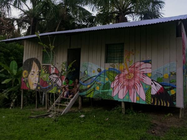 5b92fbebf183e - La joven que viajó de Providencia al Amazonas por defender el bosque//El Tiempo//YouTube.//Deforestación,foto El Espectador.