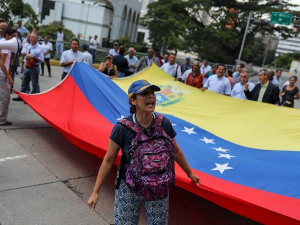 Protestas de venezolanos