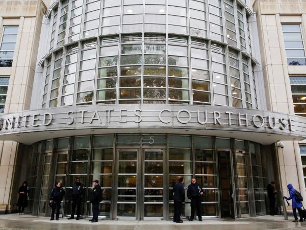 Corte donde se juzga al 'Chapo' Guzmán en Nueva York