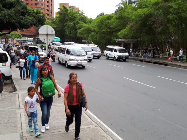 Protesta transportadores