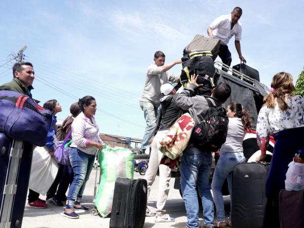 Panas en Colombia - Venezolanos en Puerto Asís