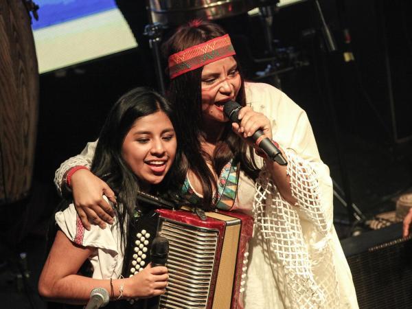 Mujeres en el vallenato