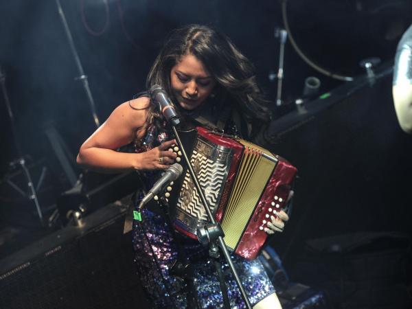 Wendy Corzo, reina Evafe 2017
