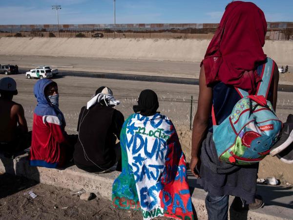 Caravana de inmigrantes