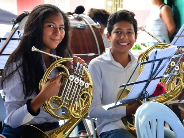 Escuela de Música de Desepaz de Cali