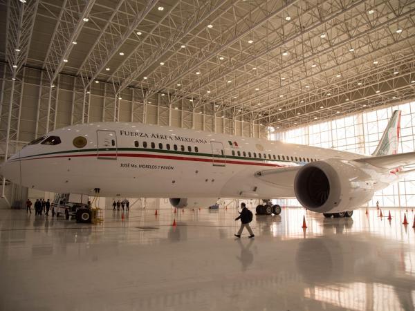 El avión que AMLO puso en venta