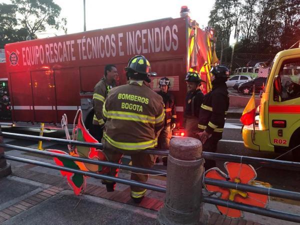 Accidente en teleférico de Monserrate deja al menos 12 lesionados