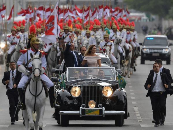 Posesión Bolsonaro