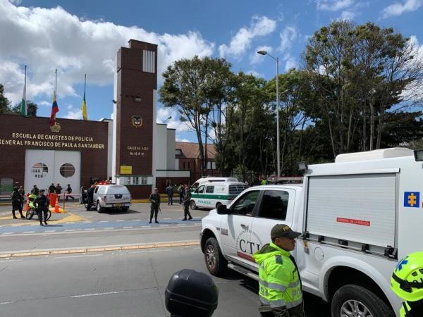 Explosión en Escuela de Policía