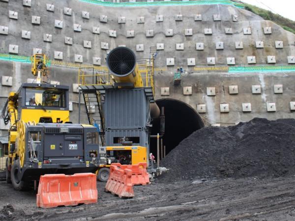 Túnel del Toyo avanza 16 por ciento