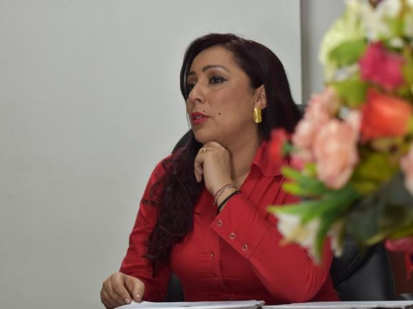 Presidenta de la Asamblea, Gessica Vallejo
