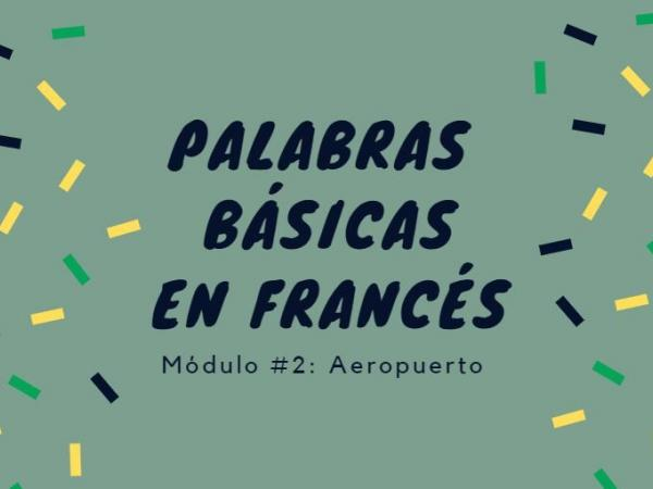 Lenguaje viajero: francés