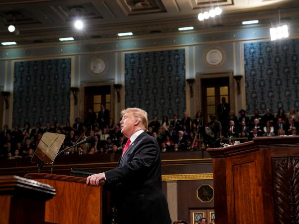Discurso del Estado de la Unión Donald Trump