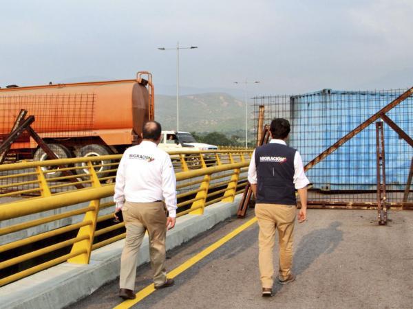 Puente Tienditas Venezuela