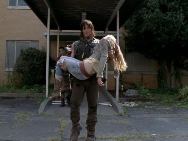 Muerte en The Walking Dead