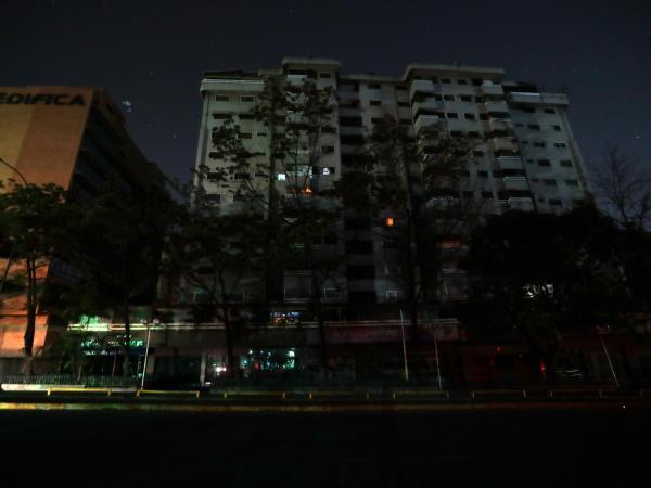 Las imágenes del drama de los venezolanos por el apagón