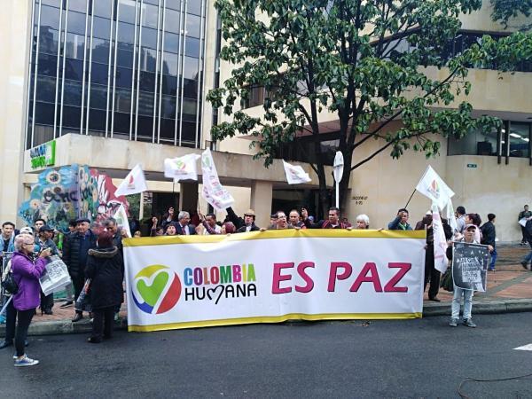 Marchas a favor de la JEP