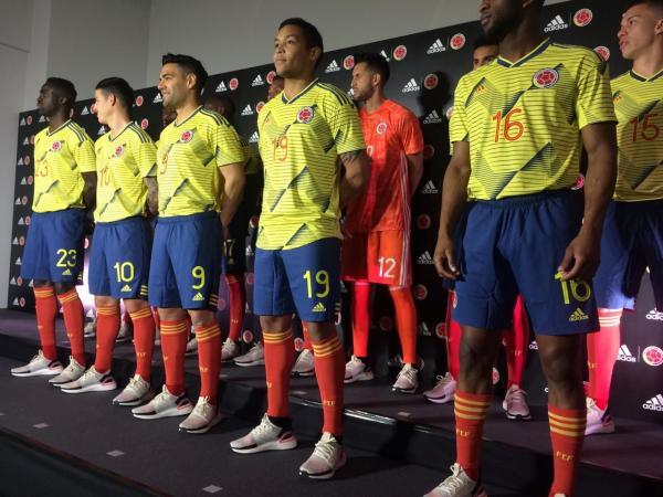 Nueva camiseta de la Selección Colombia
