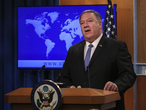 MIke Pompeo Secretario de Estado de Estados Unidos