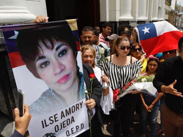 Evento en rechazo de homicidio de Ilse Ojeda