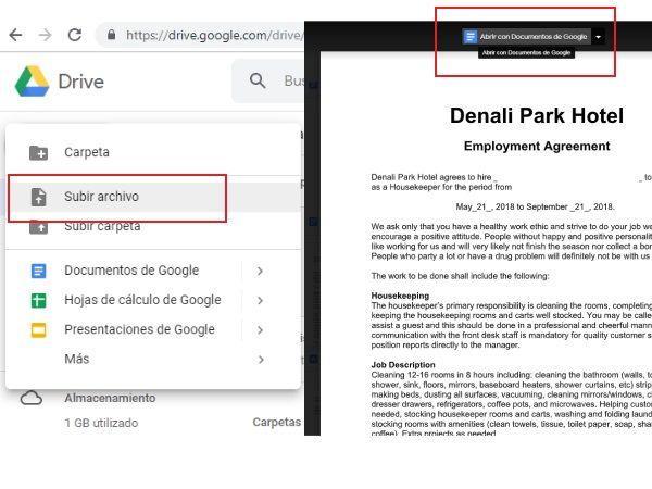 Firma desde Google Docs