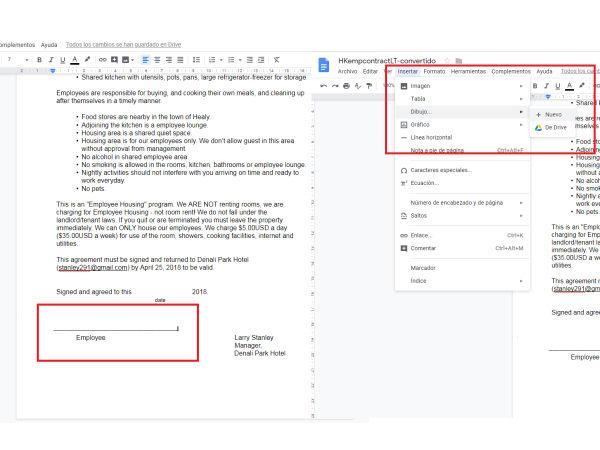 Firma desde Google Docs 2