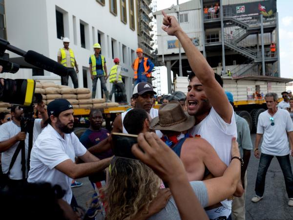Reprimida marcha gay en La Habana