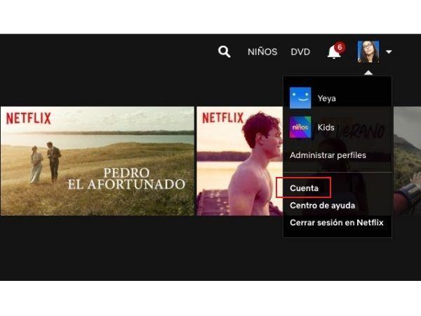 Ocultar contenido en el historial de Netflix 1