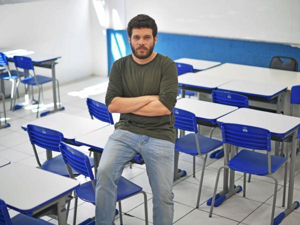 Arthur Casar profesor Brasil en marchas