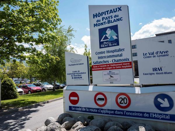 Hospital donde permanece Josu Ternera líder de ETA