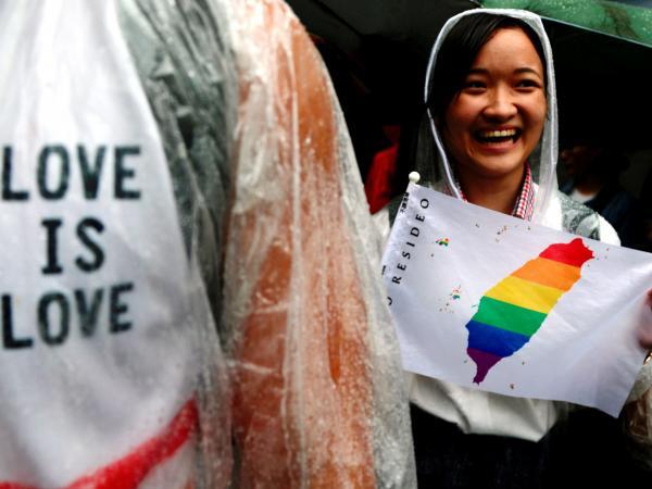 Matrimonio igualitario en Taiwan